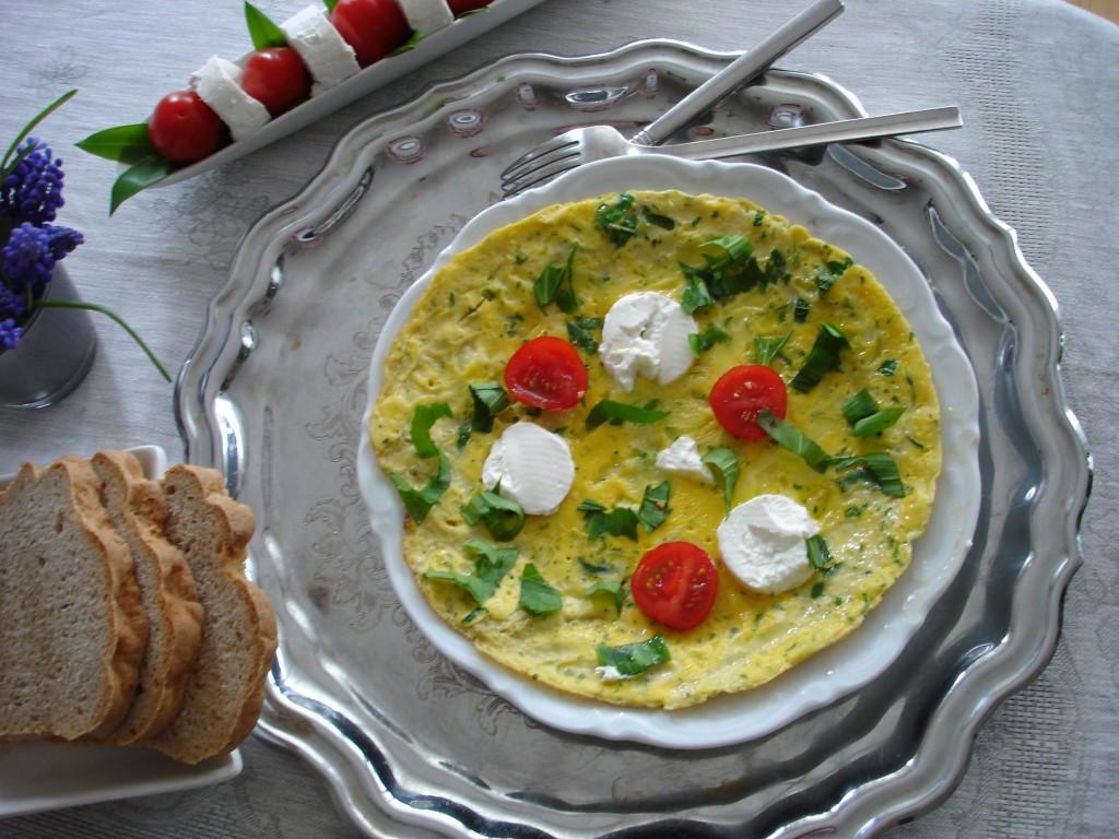 Omelett mit Bärlauch-05